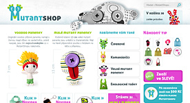 (Not only) Woodoo dolls e-shop